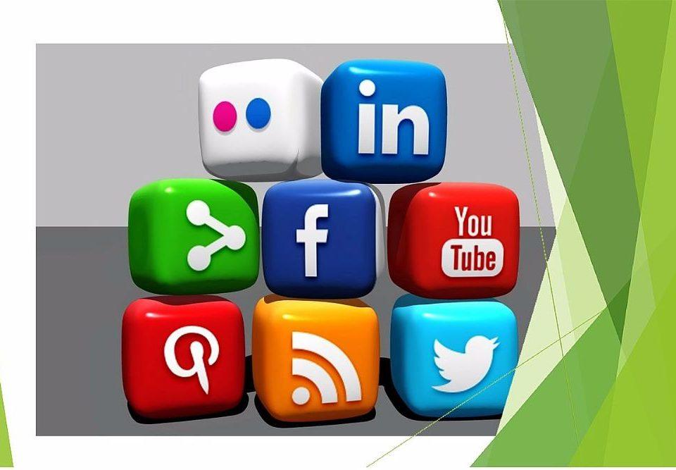Infographic met alle specifieke kenmerken social media kanalen