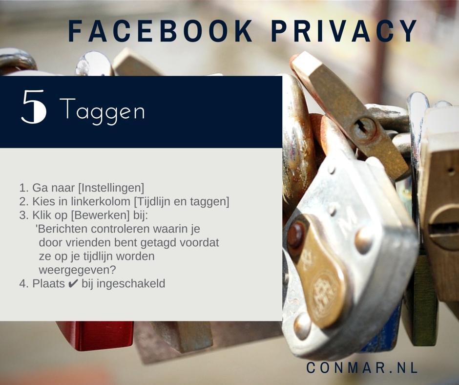 Facebook privacy - Liever niet die ene genante foto waarin je bent getagd automatisch op je Facebook tijdlijn?