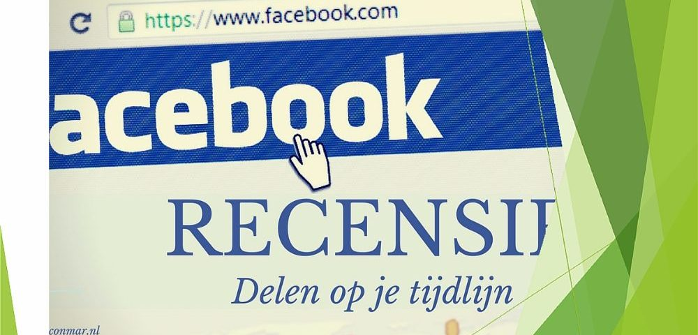 In 3 stappen je recensie delen op Facebook