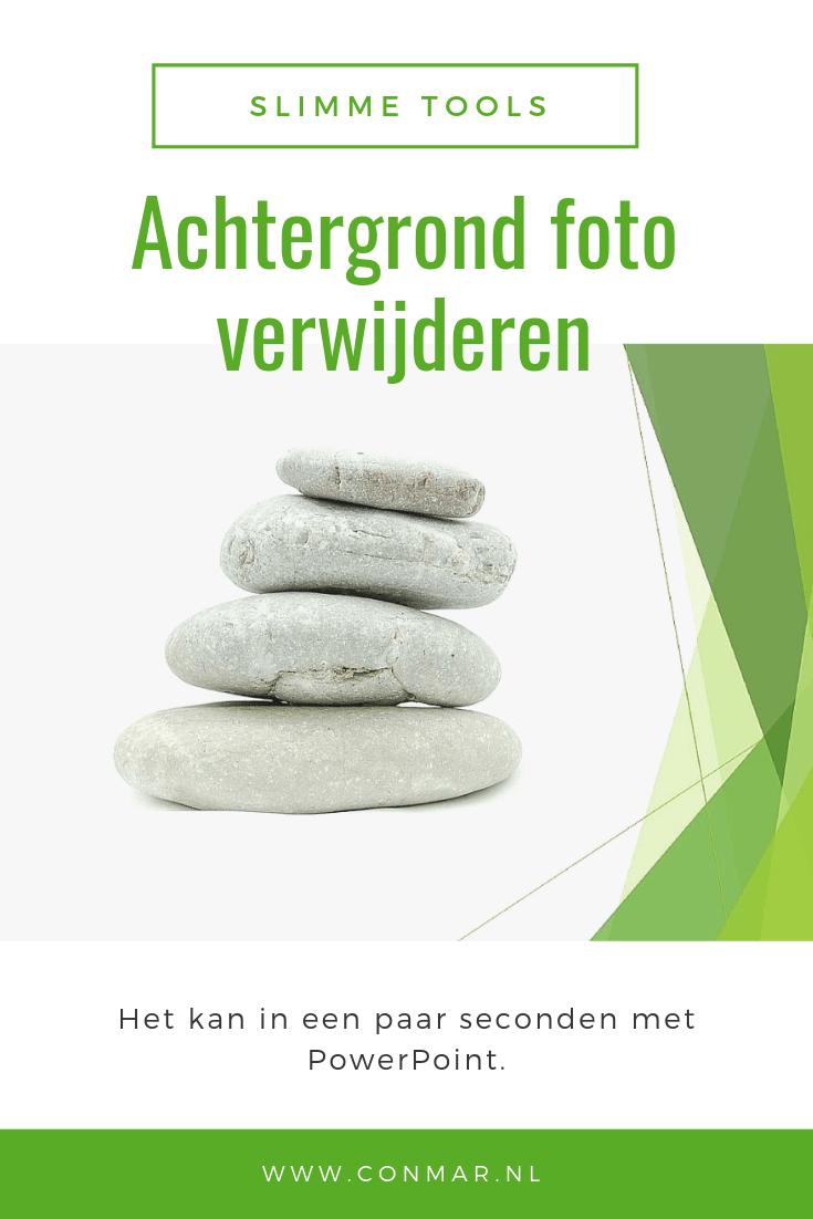 Verwijder snel en eenvoudig een storende achtergrond van een foto met behulp van Powerpoint