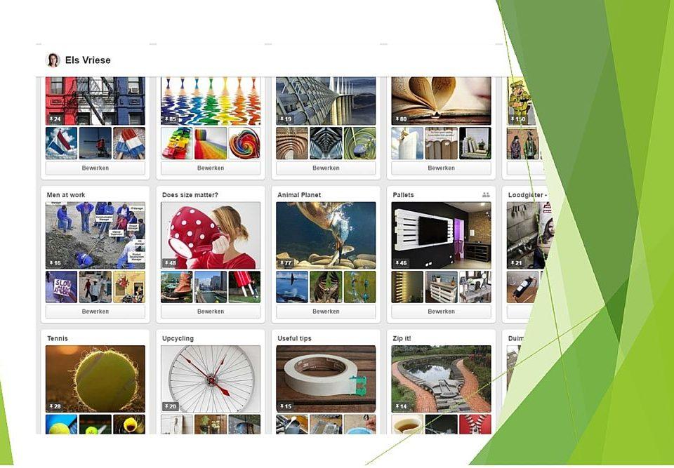 Een overzicht van borden die niet mogen ontbreken op je Pinterest profiel