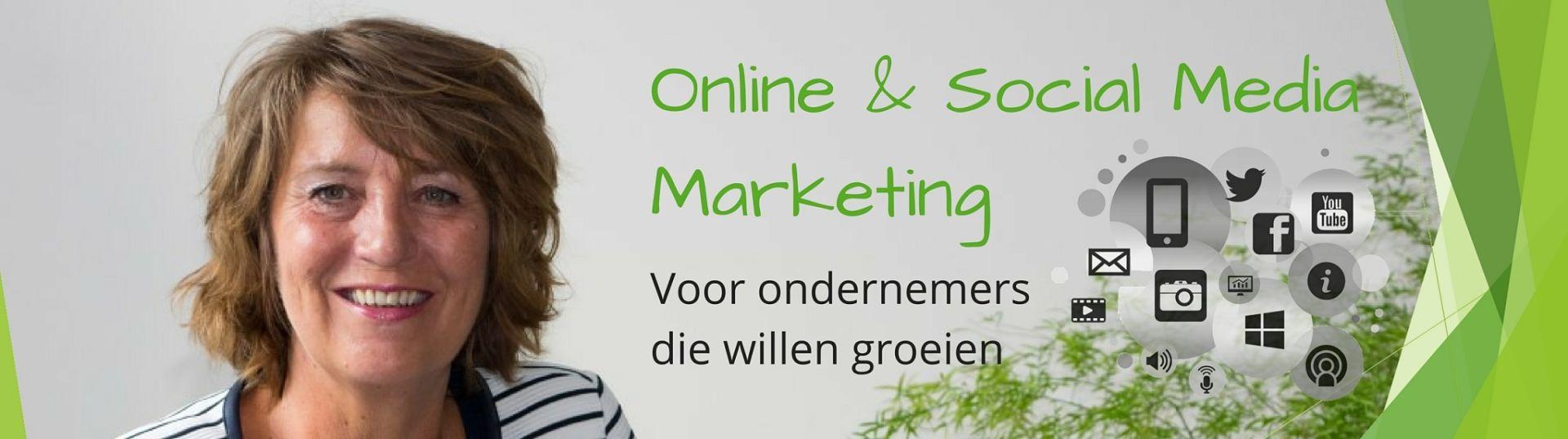 ConMar - Online en social media marketing voor ondernemers die hun naamsbkekendheid willen vertoren door website, social media en nieuwsbrief optimaal te gebruiken.