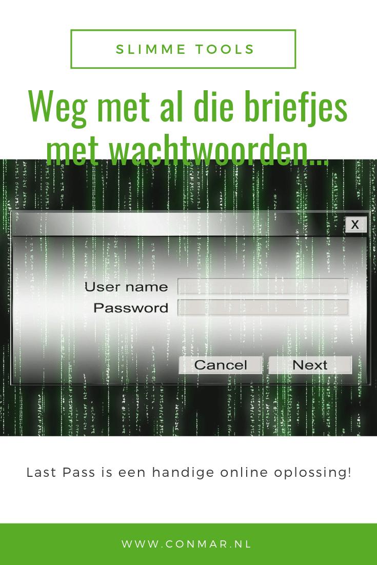 Gebruik Lastpass voor al je wachtwoorden.