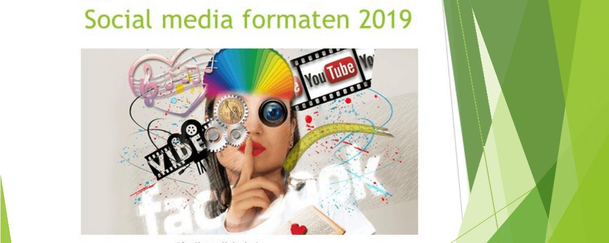 De belangrijkste social media formaten 2019 op een rijtje