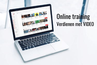 Online training verdienen met video