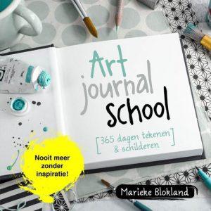 Gelezen in 2020 het boek van Marieke Blokland Art Journal School