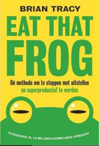 Boek Eat That Frog van Brian Cracy leeschallenge 2020
