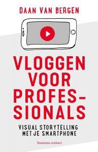 Boek Vloggen voor professionals leeschallenge 2020