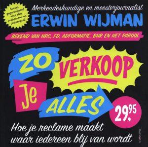 Boek Zo verkoop je alles van Erwin Wijman