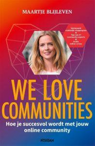 Boek We Love Communities van Maartje Blijleven - Lees challenge 2021