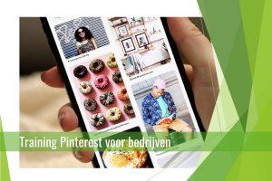 Training Pinterest voor bedrijven